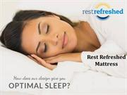 Rest Refreshed Mattress - Hybrid Foam Mattress