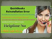 QuickBooks Error Support Number