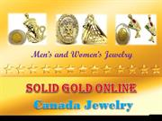Solid Gold Online- Mens and womens Jewelry