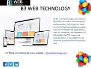 How to Choose best Website Design Company in India   B3 Web Technology