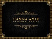 Hamna Amir Earrings Jewelry Presentation