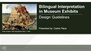Bilingual Interpretation-Design