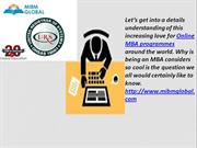 Online MBA programmes an MBA considers so cool is the MIBM GLOBAL