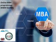 Online MBA programmes you must join an MBA programme