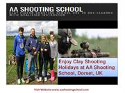 Now Enjoy Clay Shooting Holidays at AA Shooting School