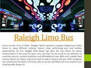 Raleigh Limo Bus