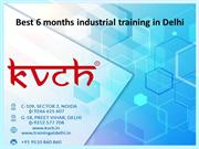 6 months industrial training in Delhi