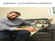 Mark Baranov - Can You Build Trust, at First Glance?
