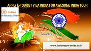 Apply e-Tourist Visa India for awesome India Tour