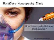 How homeopathy help to treat asthma