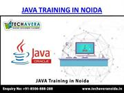 Techavera Noida | Best Java Training Institute in Noida