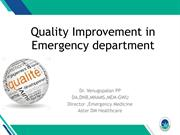NABH Quality Improvement in ED 06.07 17