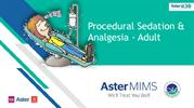 Procedural Sedation and Analgesia in Emergencyroom