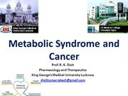 Metabolic Syndrome and Cancer