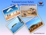 Tanzania Luxury Safaris-A once in a lifetime journey