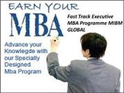Fast Track Executive MBA Programme educational institutions MIBM GLOBA