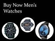 Buy Now Men's Watches