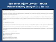 Sherwood Park Injury Lawyer