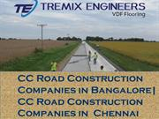 Companies in Bangalore| CC Road Construction Companies in  Chennai