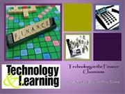 Technology and Personal Finance