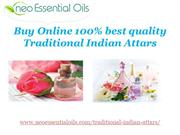 Buy Online 100% best quality Traditional Indian Attars !!
