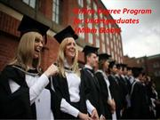 Online Degree Program for Undergraduates Management degree programme M