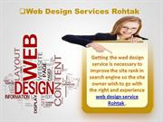 Web Design Services In Rohtak | Web design services Bhiwani