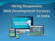 Hiring Responsive Web Development Services In India