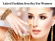 Latest Fashion Jewelry For Women- Couture Candy