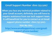 Gmail Support phone Number 1800-793-5007