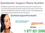 QuickBooks support phone number + 1877-521-2086