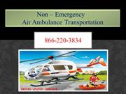 Non-Emergency medical Transport-Let's Know Who Needs Air Ambulance?