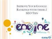 Improve Your Google Rankings with these 5 SEO