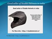 Good seller of Studds Helmets in india