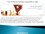 Top 10 Pharma Franchise-Companies in India