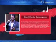 Shamit Khemka- quick decision making entrepreneur in india