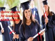 Online degree for Graduates degree with the MIBM Global