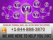 Quick Technical Support for Yahoo