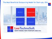 The Most Beneficial Outsourcing Model for Start-ups, ISVs (1)