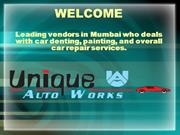 Car denting | Interior cleaning & detailing services in Mumbai