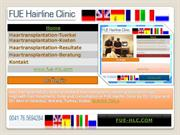 FUE Hairline Clinic- Hair Transplant Turkey