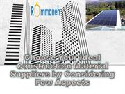 Choose Your Ideal Construction Material Suppliers by Considering Few A