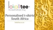 Personalised t-shirts South Africa