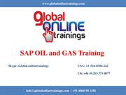 SAP OIL and GAS Training | SAP IS Oil and Gas Online Course - GOT