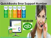 QuickBooks error Technical Number