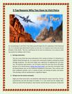 5 Top Reasons Why You Will Plan Tours to petra