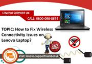 How to Fix Wireless Connectivity issues on Lenovo Laptop?