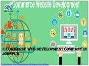 Ecommerce Web Design & Development Company in Jodhpur