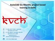AutoCAD Six Months project-based training in Delhi