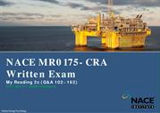 NACE MR0175 CRA Exam- Reading 2c Q&A